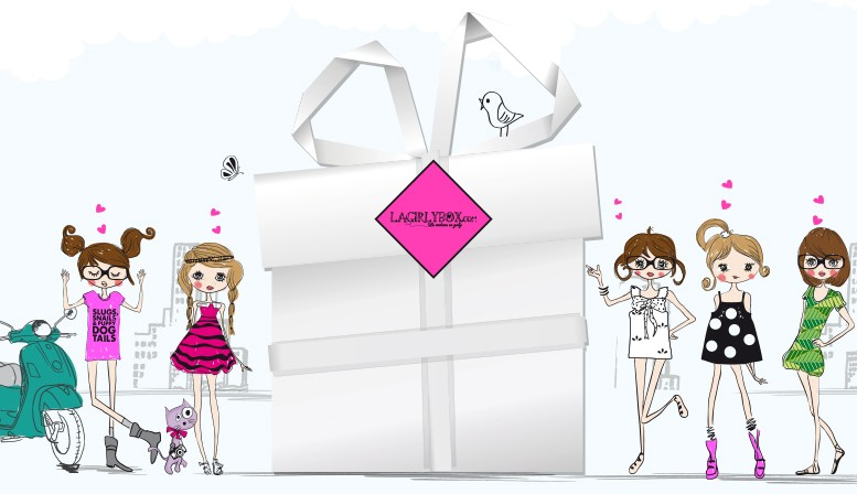 cadeau kdo ado fille la girly box