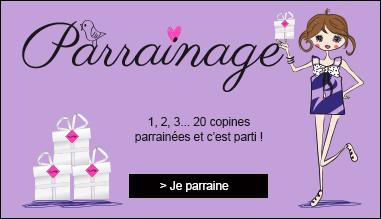 PARRAINAGE girly box Ado Fille